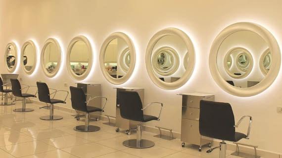 Arredi per negozi di parrucchiere estetica e profumeria for Arredi per parrucchieri